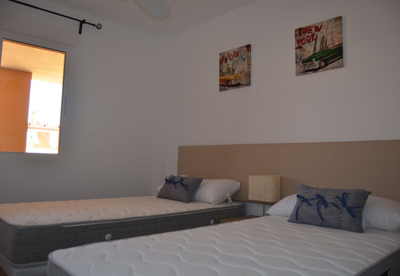 Dormitorio con 2 camas individuales - Resort Choice